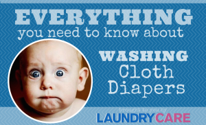 Washing cloth diapers