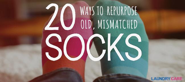 20 ways to repurpose old socks