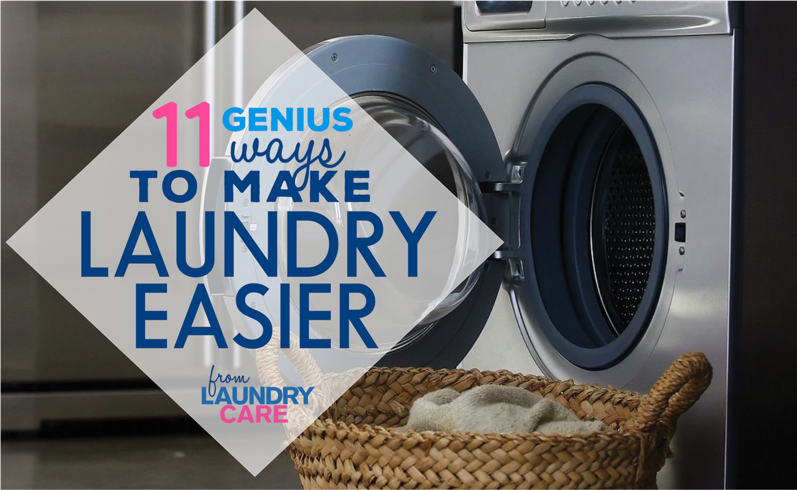 11 ways to make laundry easier