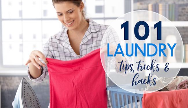 101 Laundry tips