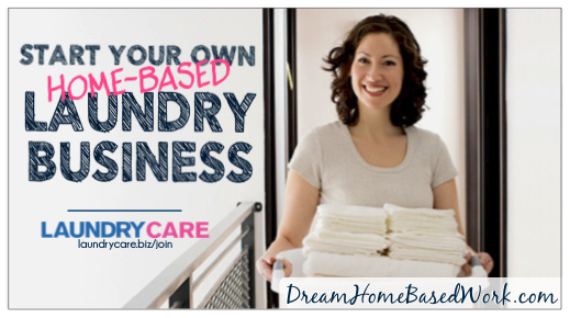 Start your own home-based laundry service